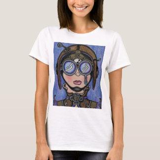 Steamface #1 Steampunk Tシャツ
