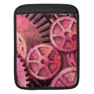 SteampinkピンクのSteampunk iPadスリーブ