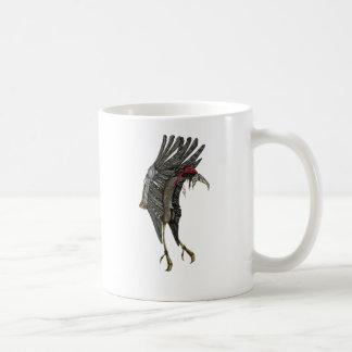 Steampunkのこうのとり コーヒーマグカップ