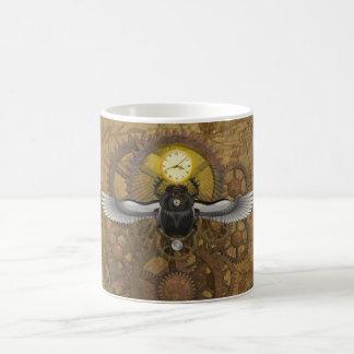 Steampunkのオオタマオシコガネ コーヒーマグカップ