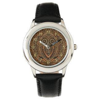 Steampunkのカスタムなヴィンテージ子供の腕時計 腕時計