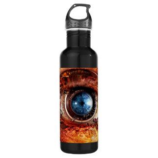 Steampunkのカメラの目 ウォーターボトル