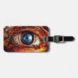 Steampunkのカメラの目 ラゲッジタグ
