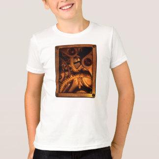 Steampunkのギアの時計仕掛けのTシャツ Tシャツ