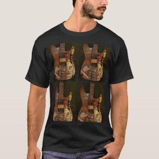 Steampunkのギター Tシャツ