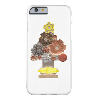 Steampunkのクリスマスツリーの私電話6/6s箱 Barely There iPhone 6 ケース