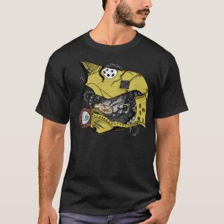 Steampunkのクールなロボット Tシャツ