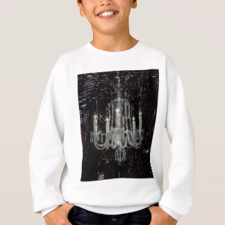 Steampunkのグランジなゴシック様式素朴なシャンデリア スウェットシャツ
