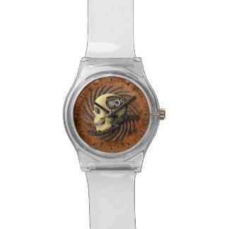 Steampunkのスカル 腕時計