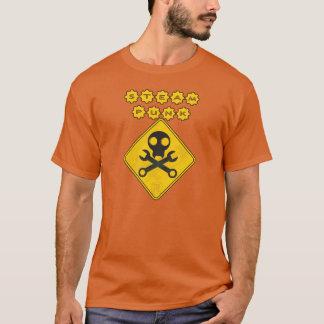 Steampunkのスカル Tシャツ