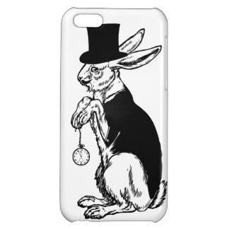 SteampunkのタキシードのバニーウサギのシルクハットのiPhone 5 iPhone5Cケース