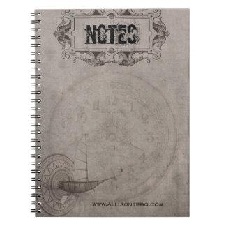 Steampunkのノート ノートブック