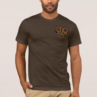 Steampunkのハート Tシャツ