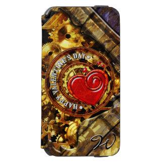 Steampunkのバレンタインデー1B Incipio Watson™ iPhone 5 財布型ケース
