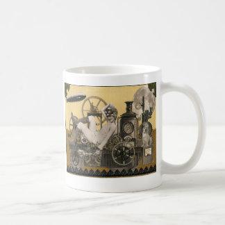 Steampunkのヒロイン コーヒーマグカップ