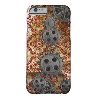Steampunkのブロケードおよびギア1 Barely There iPhone 6 ケース