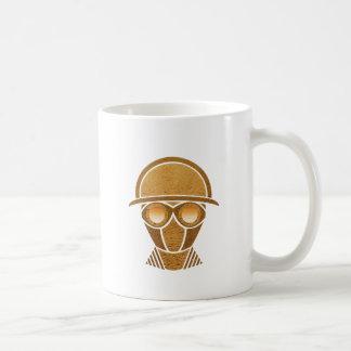 Steampunkのヘルメット及びマスク コーヒーマグカップ