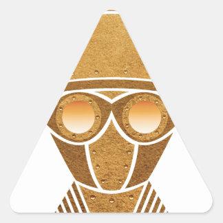 Steampunkのヘルメット及びマスク 三角形シール