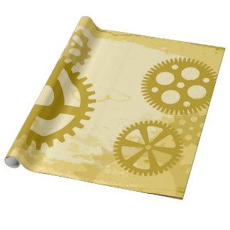 Steampunkの包装紙 ラッピングペーパー
