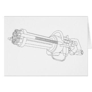 Steampunkの回転銃 カード