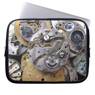 Steampunkの壊中時計のラップトップスリーブ ラップトップスリーブ