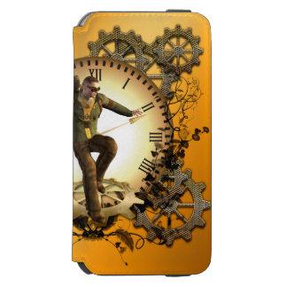 Steampunkの時計の人 Incipio Watson™ iPhone 6 ウォレットケース