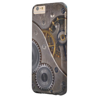 Steampunkの時計仕掛けの錆ついたギア Barely There iPhone 6 Plus ケース