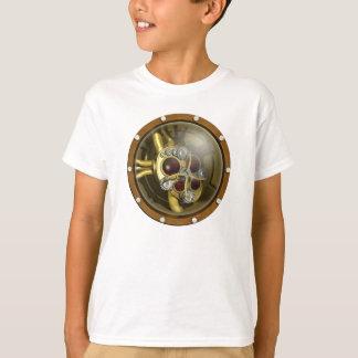 Steampunkの機械ハート Tシャツ
