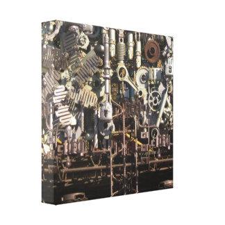 Steampunkの機械機械類機械 キャンバスプリント