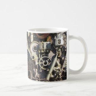 Steampunkの機械類 コーヒーマグカップ