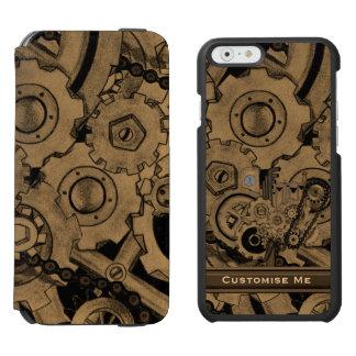 Steampunkの機械類(真鍮) Incipio Watson™ iPhone 6 ウォレットケース