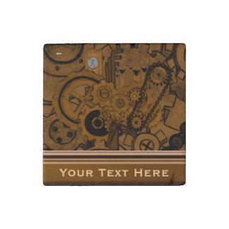 Steampunkの機械類(銅) ストーンマグネット