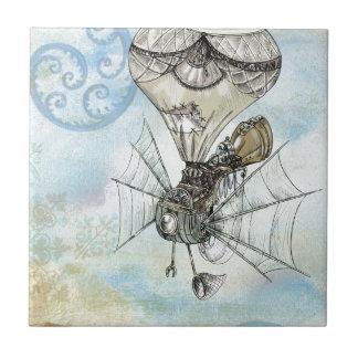 steampunkの気球 タイル