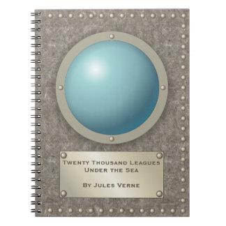 Steampunkの潜水艦のhublot ノートブック