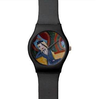 Steampunkの潜水艦-インスパイアジュールVern 腕時計