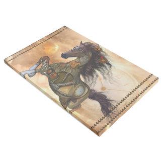 Steampunkの素晴らしいsteampunkの馬 ギャラリーラップ