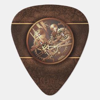 Steampunkの腕時計のギア ギターピック