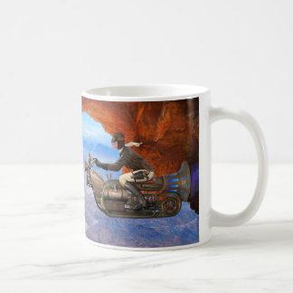 Steampunkの航空機 コーヒーマグカップ