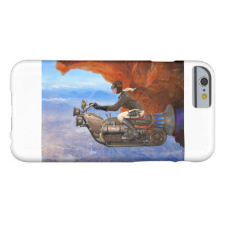 Steampunkの航空機 Barely There iPhone 6 ケース