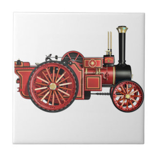STEAMPUNKの蒸気機関のデザイン タイル