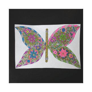 Steampunkの蝶翼 キャンバスプリント