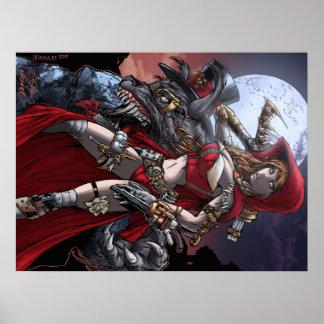 Steampunkの赤 ポスター
