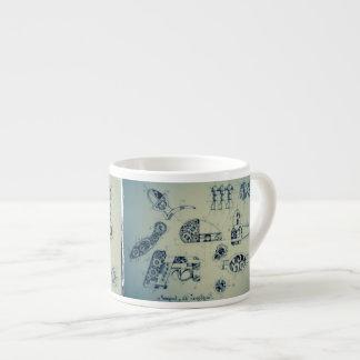 SteamPunkの青写真 エスプレッソカップ