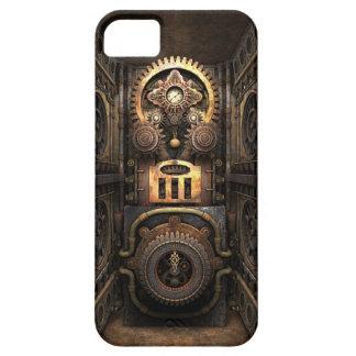 Steampunkの非道の考案物 iPhone SE/5/5s ケース