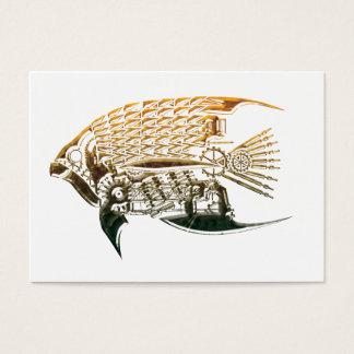 Steampunkの魚の名刺 名刺
