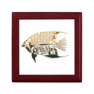 Steampunkの魚のgiftbox ギフトボックス