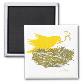 steampunkの鳥の巣の磁石 マグネット