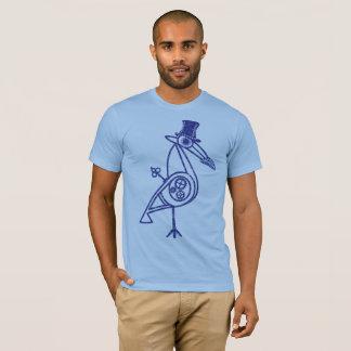 Steampunkの鳥 Tシャツ