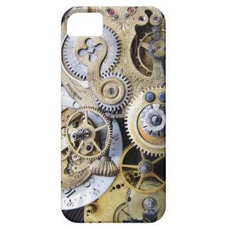 Steampunkのiphoneのためのヴィンテージ壊中時計のギア iPhone SE/5/5s ケース