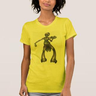 steampunkのwaiteress tシャツ